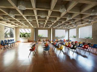 Uffici ICT Sala multimediale in stile industriale di A&ZETA STUDIO ARCHITETTURA E DESIGN Industrial