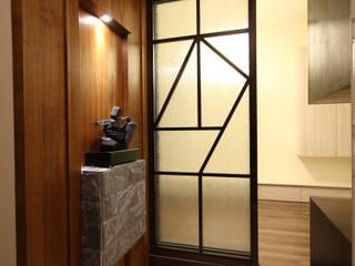 李字型拉門 協億室內設計有限公司 Asian windows & doors