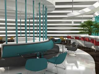 FNG DESIGN Modern Koridor, Hol & Merdivenler FNG DESIGN Modern