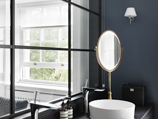 Agence MIND BathroomSinks Wood Black