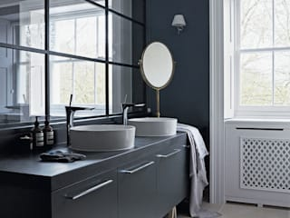Agence MIND BathroomSinks Wood Blue