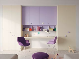 Nidi Modern nursery/kids room Engineered Wood Purple/Violet