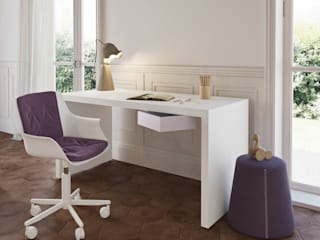 Nidi Modern nursery/kids room Engineered Wood White