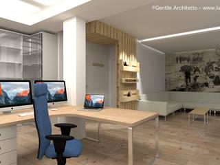 Giorgio's Home Office Studio moderno di Gentile Architetto Moderno