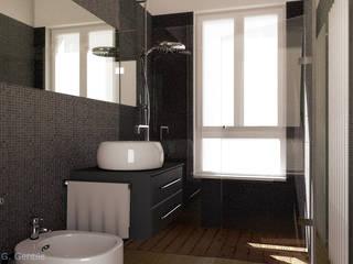 Contemporary English Style Apartment Bagno moderno di Gentile Architetto Moderno