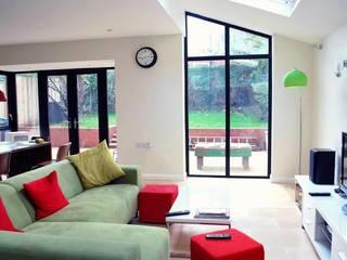 Extension, Stranmillis, Belfast:  Living room by Jim Morrison Architects