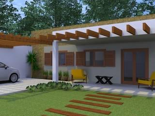 Projeto de Edícula: Casas  por Arquitetura Pronta,Eclético