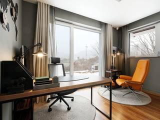 위즈스케일디자인 Modern study/office