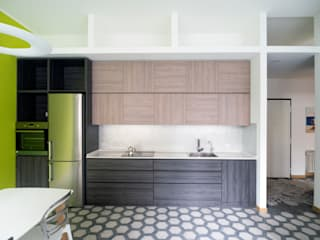 Eclectic style kitchen by Luigi Brenna Architetto Eclectic