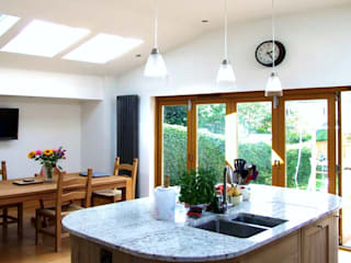 Extension, Finaghy, Belfast:  Kitchen by Jim Morrison Architects