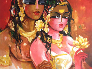 Indian Art Ideas ArtworkPictures & paintings Red