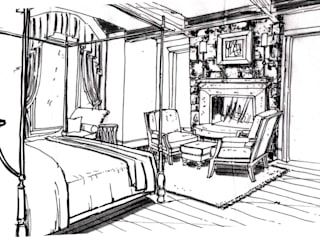 Example Sketch - Level 2  :   by Kevin Gray Interiors