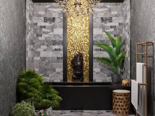 Salle de bain originale par АрютоваDESIGN Éclectique