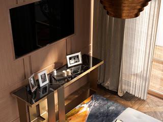 Кабинет в проекте Пентхаус в центре Москвы: Рабочие кабинеты в . Автор – АрютоваDESIGN