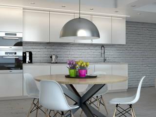 Progetto appartamento Cucina moderna di Silvana Barbato Moderno