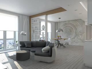 Progetto appartamento Soggiorno moderno di Silvana Barbato Moderno