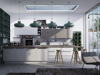 kitchen: Cucina in stile in stile Industriale di Studio Gentile