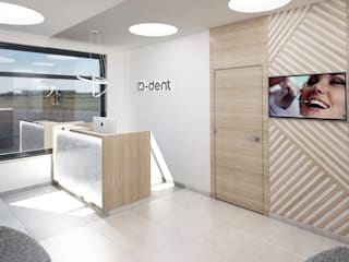 Modern clinics by STUDIO 180° Modern
