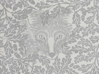 FOREST Dust Dove Grey Wallpaper 10m Roll Hevensent HogarAccesorios y decoración