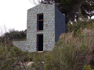 Casas  por Fabrizio Alborno Studio di Architettura ALBORNO\GRILZ , Mediterrânico