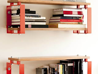 mensola CONTAINER:  in stile  di Fabrizio Alborno Studio di Architettura ALBORNO\GRILZ