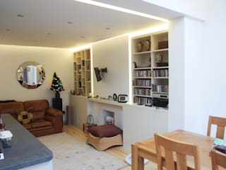Beckenham Extension Bolans Architects Modern living room