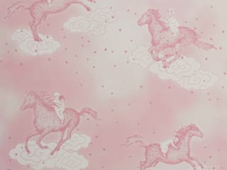 POPCORN Pink Wallpaper 10m Roll Hevensent HouseholdAccessories & decoration