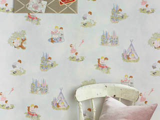 PLAYTIME Wallpaper 10m Roll Hevensent HouseholdHomewares