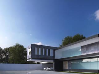 Hill House - Zapopan, Jalisco: Casas de estilo  por Unikco Arquitectos
