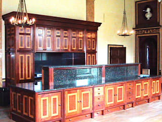 Stately Kitchen at Dodington House de Tim Wood Limited Clásico