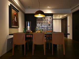 Dining room by 沐朋設計