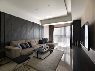 Living room by 拾雅客空間設計,