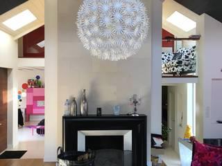 Rénovation lourde Salon moderne par Arboresens Moderne