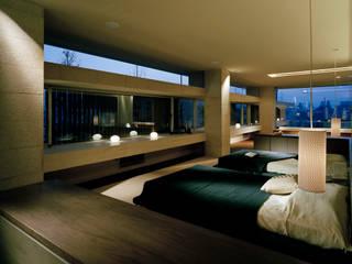 森裕建築設計事務所 / Mori Architect Office Dormitorios de estilo moderno
