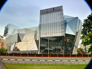 Centros de congressos modernos por Архитектурная Мастерская Георгия Пряничникова Moderno