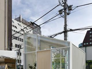 虎ノ門の小屋: 西谷隆建築計画事務所が手掛けた商業空間です。,