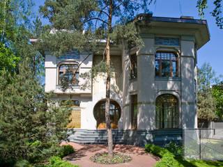 Casas modernas por Архитектурная Мастерская Георгия Пряничникова Moderno