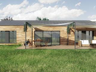 Projekty,  Okna zaprojektowane przez Belle Ville Atelier d'Architecture