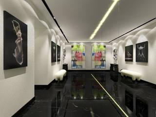 Hall d'Entrée / Entrance Hall : Couloir et hall d'entrée de style  par Luxury Interiors
