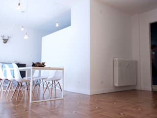 Casa Ca/Mi Cucina minimalista di Archimeccanica Minimalista
