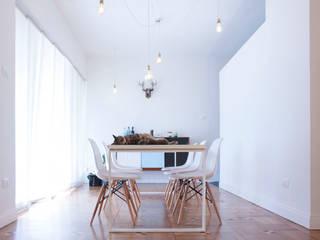 Casa Ca/Mi Sala da pranzo minimalista di Archimeccanica Minimalista