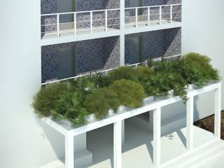 Residenza Br/Rh Ingresso, Corridoio & Scale in stile minimalista di Archimeccanica Minimalista