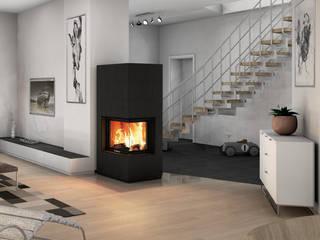 CB stone-tec GmbH 现代客厅設計點子、靈感 & 圖片 石器