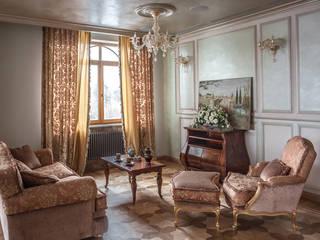 Klassische Wohnzimmer von Архитектор и дизайнер Михаил Топоров Klassisch