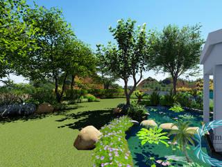 Taman Gaya Country Oleh PALMA CONCEPT Country