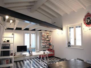Casa H Studio eclettico di L. Samuele Rubagotti Architetto Eclettico