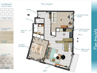 Plan projeté:  de style  par Sb Design Concept