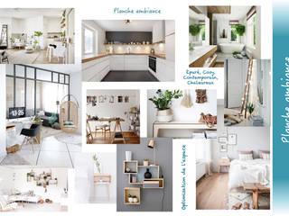 Planche ambiance:  de style  par Sb Design Concept