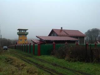Landhäuser von Архитектор и дизайнер Михаил Топоров Landhaus
