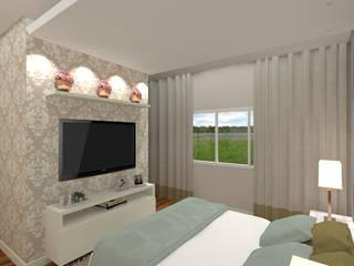 Klasyczna sypialnia od Gabriela Sgarbossa - Estúdio de Arquitetura Klasyczny